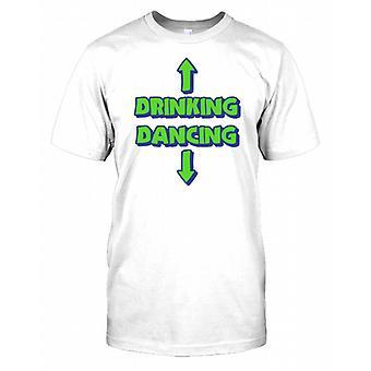 Trinken - tanzen - lustige Kinder T Shirt