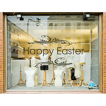 Frohe Ostern Shop Window Sticker