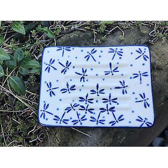 SOAP dish, 12 x 8 cm, damselfly, BSN A-0821