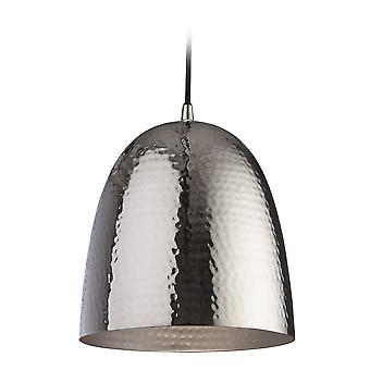 Firstlight - 1 Light Ceiling Pendant Nickel, Matt Nickel Inside - 8672NC