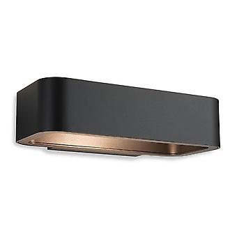 Erstlicht-LED 1 Light Wall Light Graphite IP54-8669GP