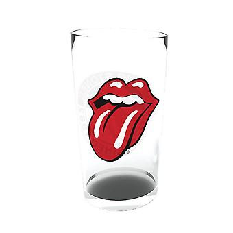The Rolling Stones Logo Large Glass