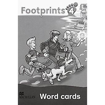 Footprints 4 - Word Cards by Carol Read - 9780230012271 Book