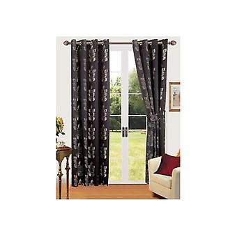 Comfort Collection Eyelet Curtain - Barley