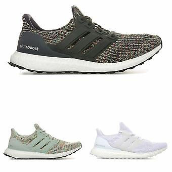 Mens adidas UltraBOOST Running/Gym Shoes Trainers in black grey white