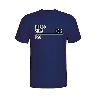 Thiago Silva Psg Squad T-shirt (navy)
