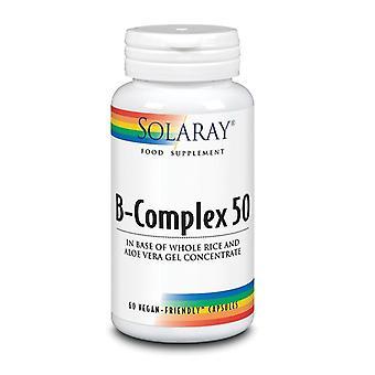 Solaray B-kompleks 50 kapsler 60 (1016)