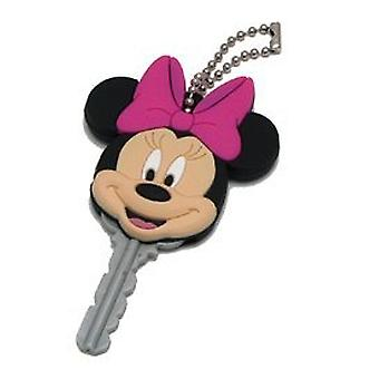 Key cap-Disney-Minnie Mus-PVC Die cut holder gaver leker nye 21091
