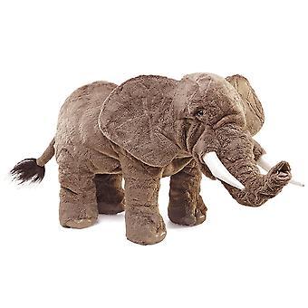 Hand puppet-Folkmanis-olifant nieuwe dieren zachte pop pluche speelgoed 2534