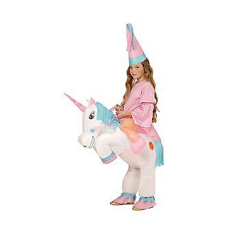 Licorne - Enfant (Licorne gonflable avec le chapeau)