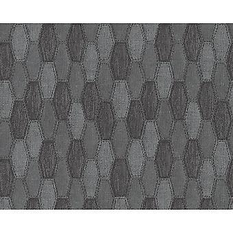 A.S. Creazione AS Creazione Canvas Tessuto Effetto Sfondo Geometrico Modello Geometrico Strutturato 306934