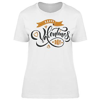 Valentines Day Lettering Holiday Tee Women's -Image by Shutterstock