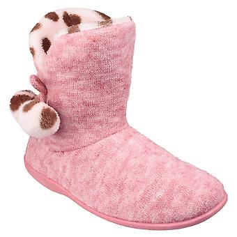 Mirak Womens Limoges Slipper Boot Pink