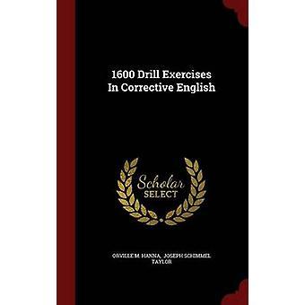 1600 Exercices d'exercices en anglais correctif par Hanna et Orville M.