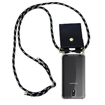 Custodia della catena del telefono Cadorabo per Samsung Galaxy NOTE 3 Custodia - Custodia a spalla in silicone con cavo nastro cavo e custodia rimovibile