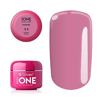 Base one-Pastel-Dark pink 5g UV gel