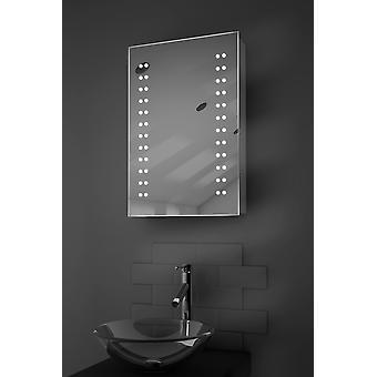 Balta baie LED cabinet cu demister pad, senzor & Shaver k346