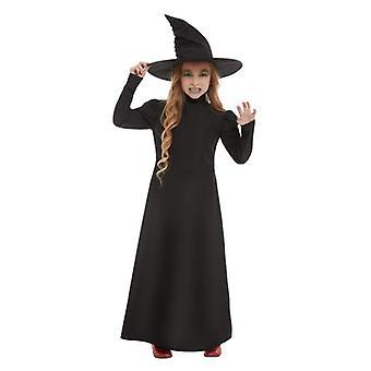 Ragazze Halloween Wicked Strega Fancy Abito Costume