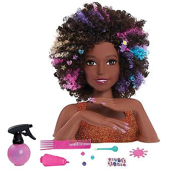Barbie - Styling head, Afro