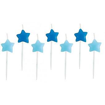 Cake Candle Jabadabado star Blue