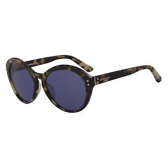 كالفن كلاين CK18506S 244 السلحفاة الكاكي / النظارات الشمسية الزرقاء