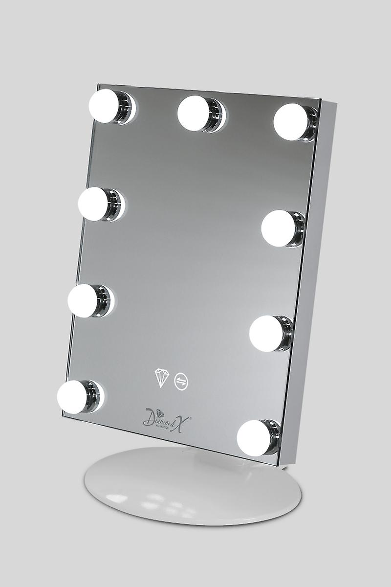 Mini X Pro Makeup Mirror with Touch Dimmer, Fully adjustable angle