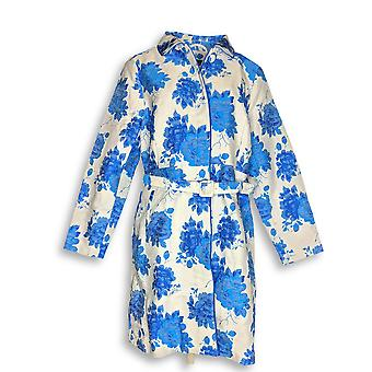Isaac Mizrahi Live! Kvinner ' s Special Edition floral blå A287094