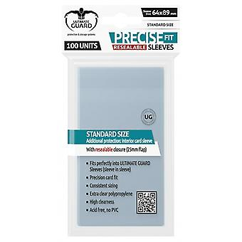 Ultimate Guard Precise-Fit Manches refermables Taille 89x64 mm