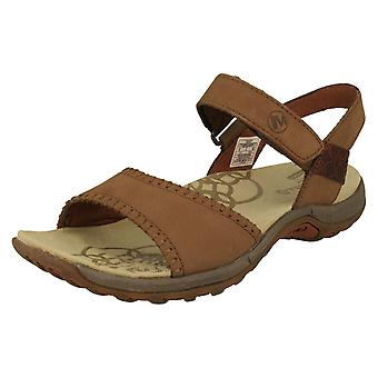 Dames Merrell Strappy Summer Sandals Hibiscus