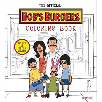Official Bobs Burgers Colouring Book by Lauren Bouchard