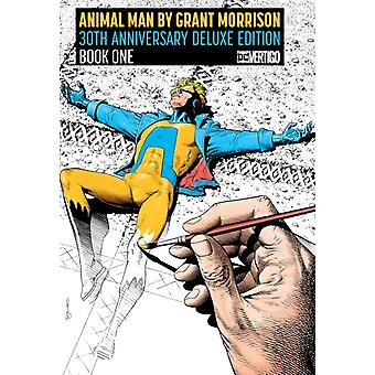 Animal Man by Grant Morrison Book One Deluxe Edition by Grant Morrison