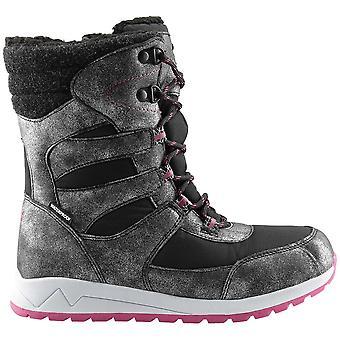 4F HJZ19 JOBDA003 HJZ19JOBDA003CZARNY chaussures universelles pour enfants d'hiver