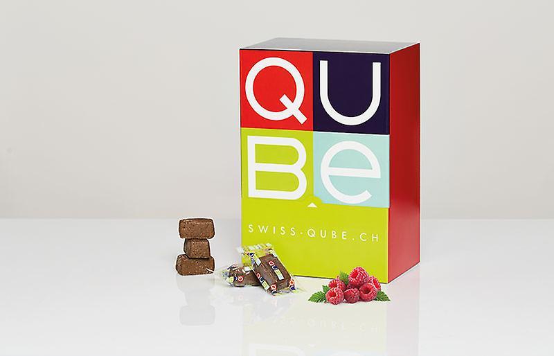 Swiss-QUBE Diätriegel - Gewichtskontrolle   Abnehmen ohne zu Hungern auf natürlicher Basis   Geschmack Robo Bio & Vegan   70 Swiss-Qubes - Wochenration