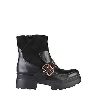 Ana lublin - karin femei's glezna cizme, negru