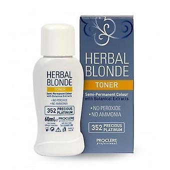 Proclere herbal blonde toner 352 60ml