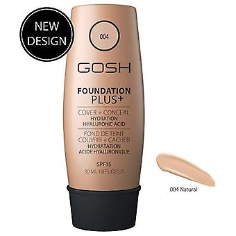 Gosh Foundation Plus + Natural Spf 15 of 30 ml (Makeup , Face , Foundation)