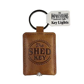 Geschichte & Heraldik Schlüsselanhänger - The Shed Key Light