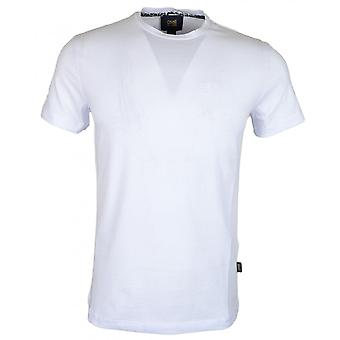 Cavalli Class Ananke Stretch Cotton Simple White T-shirt