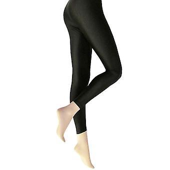 Silky Shimmer Wet Look Leggings