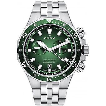 Edox 10109 3VM VIN Delfin Heren Horloge