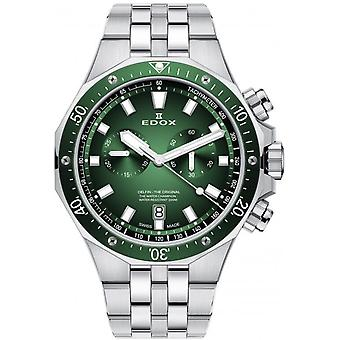 Edox 10109 3VM VIN Delfin Relógio Masculino