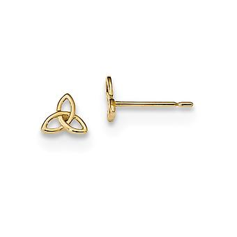 6mm 14k Madi K Kids Celtic Knot Post Earrings Jewelry Gifts for Women - .4 Grams