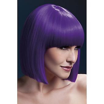 Smiffy's Fever Lola Wig - Purple