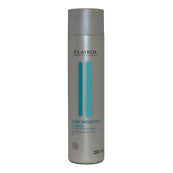 Clairol Professional Sleek Smoother Shampoo 250ml Avocado and Wheatgerm Oil