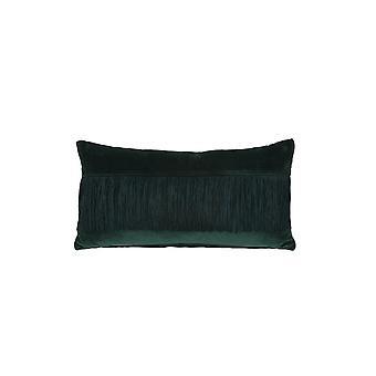 Licht-en leefkussen 60x30cm Franjes Groen