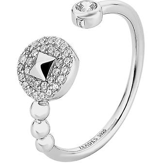 Ring Zeades travel island-if - ring silver crystals woman