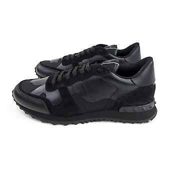 Valentino Camo Rockrunner Sneaker Svart 0NO
