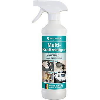 HOTREGA® limpador multi-potência, garrafa de spray de 500 ml