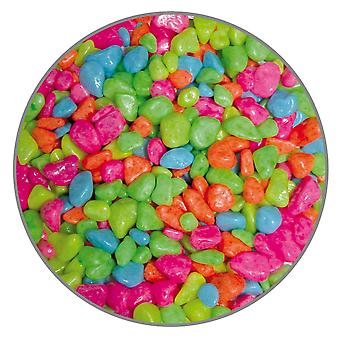Ica Gravel Premium Neon Mult 5Mm 450G (Fish , Decoration , Gravel & sand)