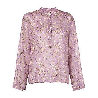 Isabel Marant ÉToile Ht112920p028e86lc Women's Lilac Cotton Blouse